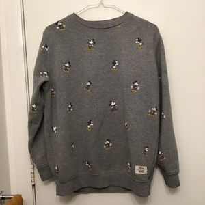 Vans Mickey Mouse sweater shirt